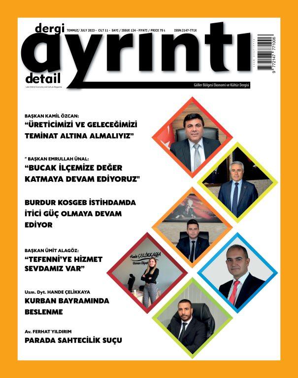 Dergi Ana Sayfa İmajı